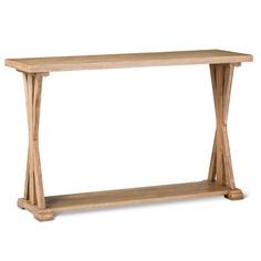 Farmhouse Console Table - Wood : Target. 30.000 inchesH x 16.000 inchesW x 47.500 inchesD. $160
