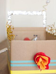 DIY Cardboard Box Rocket Ship