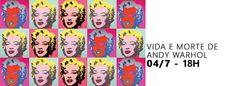 Sábado, dia 04 de julho de 2015 às 18:00 tem Mostra de Filmes Andy Warhol - Ícones Pop em Livraria da Travessa - Shopping Leblon (Rio de Janeiro - Rio de Janeiro)