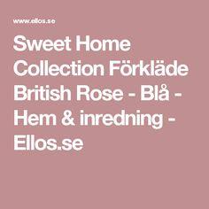 Sweet Home Collection Förkläde British Rose - Blå - Hem & inredning - Ellos.se