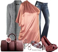 """""""Valentine's Day Date Outfit"""" by amabiledesigns on Polyvore"""