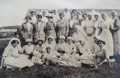 New photographs have also emerged of the women of Royaumont, thanks to the ever-resourceful Sue Light on her excellent blog. Frances Ivens is clearly shown at the centre of both. Her life is well recounted by Vicky Caren here and in this other post on the Merseyside at War site