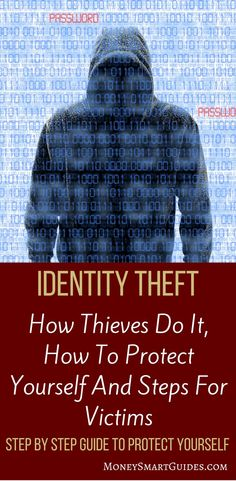 12 Critical Steps To Prevent Identity Theft (And How To Recover As A Victim)   Do you know how your identity gets stolen? How to protect yourself? What to do as a victim? This post answers all of your questions and will help keep you safe. Click through to learn more. via @moneysma #moneytips #savemoney #money