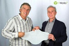 It Works! Global CEO Mark Pentacost and Product Formulator Luis Mijares have been working together for the past 11 YEARS to bring you this Crazy Wrap Thing! I'm a It Works! Global distributor and we are most know for That Crazy Wrap Thing. The Ultimate Body Applicator that tightens, tones, and firms the skin in as little as 45 minutes and progressive results over 72 hours.  Please visit my website to find out more about the products and the business opportunity. What myself and so many…