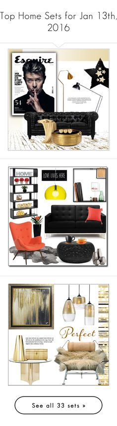 """Top Home Sets for Jan 13th, 2016"" by polyvore ❤ liked on Polyvore featuring interior, interiors, interior design, home, home decor, interior decorating, Anglepoise, Karl Lagerfeld, Bethany Lowe and Home"