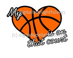 Download Love Basketball Heart Infinity Symbol   Silhouette Cameo ...