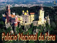 The Pena National Palace (Palácio Nacional da Pena) is a Romanticist palace in São Pedro de Penaferrim, municipality of Sintra, Portugal. The palace stands on the top of a hill above the town of Sintra, and on a clear day it can be easily seen from Lisbon and much of its metropolitan area. The palace is a UNESCO World Heritage Site and one of the Seven Wonders of Portugal.