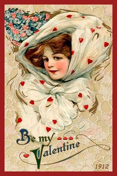 Olde America Antiques | Quilt Blocks | National Parks | Bozeman Montana : Valentine - Be My Valentine