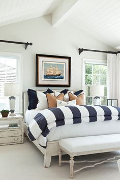 Beach House with Classic Coastal Interiors