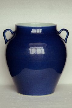 Chinese Ming Porcelain Vase 15th C 12 1/2 x 12 x 11 1/2 in.