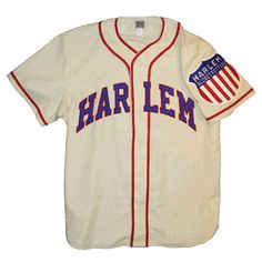 Harlem Globetrotters 1946 Home Jersey  INDEPENDENT NEGRO LEAGUES  Promoter Abe Saperstein wanted a traveling baseball club to complement his famous basketball team.