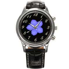 Forget Me Not Masonic Gents Mens Wrist Watch  Gift by FiveStarGift
