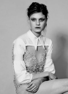 constance jablonski for grey #2 ss10 by chadwick tyler.