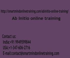 """""""Abinitio signifies """"Begins in the Start"""". Abinitio app operates together with the client-machine design. The customer is known as """"visual Development Environment"""" (it is possible to contact it GDE).It lives on consumer background. The host or backend is known as cooperating program"""".  <a href="""" http://smartmindonlinetraining.com/abinitio-online-training/""""> Ab Initio Online training </a>"""