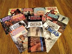 The Walking Dead comic reaches issue 100 this month. Celebrates with 15 different covers.