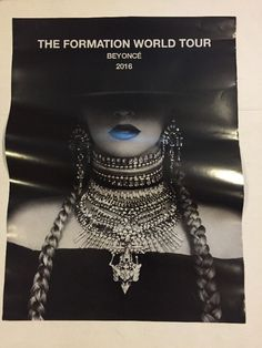 "Beyoncé The Formation World Tour Poster 2016 18""x24"""