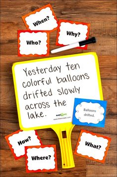 Do your students have trouble writing complete sentences? Do they write in fragments and run-ons? Use these engaging activities to teach students how to write longer, more complex sentences! Sentence Go Round includes a sentence sorting activity, a cooper Writing Complete Sentences, Complex Sentences, Sentence Writing, Writing Sentences, Cooperative Learning Strategies, Teaching Strategies, Teaching Resources, Learning Games, Teaching Ideas