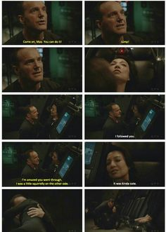 Oh god the moment when he brought her down like that. Marvel Show, Marvel Dc, Avengers Memes, Marvel Memes, Melinda May, Ming Na Wen, Clark Gregg, Marvels Agents Of Shield, Phil Coulson