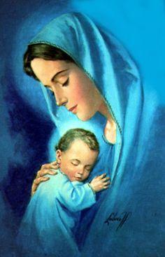 120 Meilleures Images Du Tableau Image Vierge Marie Et Jésus