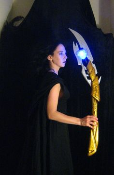 Loki Scepter  Light Up  3 Feet Tall  Made to by ThePotionsMistress