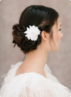 Silk Flower Rachel BelleJulie Bridal Accessoires bellejulie.de