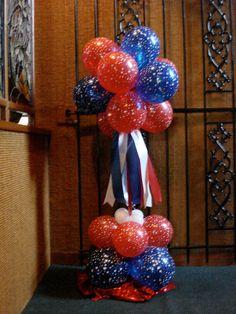 Balloon Arrangement   July 4th
