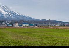 Spring fields and Mt Yotei.  #Yotei #Niseko #Spring #Fields