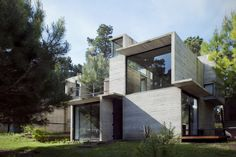 Built by BAK arquitectos in Mar Azul, Argentina with date 2013. Images by Inés Tanoira. This work is the result of a process that began in 2004 with the construction of a summer house in the forest of Mar ...
