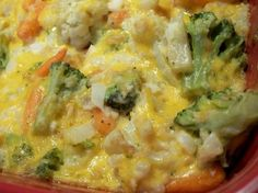 Broccoli Cauliflower Cheese Bake is the ultimate side to your Easter Feast! Description from pinterest.com. I searched for this on bing.com/images