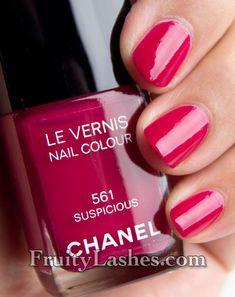 Chanel Fall 2012 Nail Polish 561 Suspicious Swatch