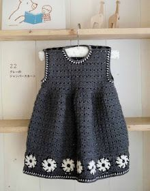 Crochet Knitting Handicraft: Crochet Children Dress (A) Baby Clothes Patterns, Crochet Baby Clothes, Clothing Patterns, Moda Crochet, Crochet Yarn, Woolen Clothes, Clothing And Textile, Crochet For Kids, Crochet Children