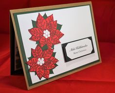 hawaiian christmas card, mele kalikimaka, made in hawaii, gift for her, gift for him, red, green, hawaii love card. by xoxoTi on Etsy