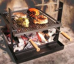 Rome Industries Adjustable Cooking Grate | Amazing Ribs