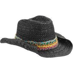b6ca77fda98 ONLINE - Women s Straw Cowboy Hat With Mult Color - Walmart.com