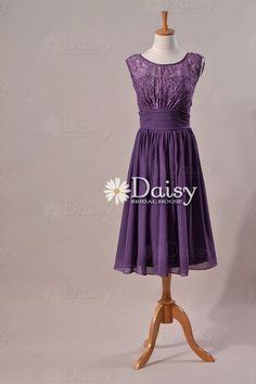 Old Lavender Lace Bridesmaid Dress,Lace Bridesmaid Dress,Vintage Formal Dress,dark grayish violet Lace Dress,Lace Bridesmaid Dress(PR1308) on Etsy, £72.89