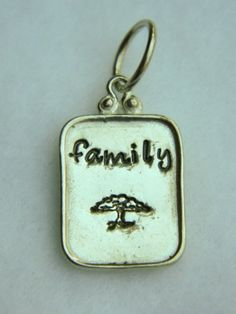 Tree of Life - Family hand stamped sterling silver necklace pendant | Lundela - Jewelry on ArtFire