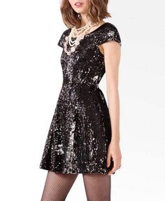 46ac17c0795c  Sequin New Year s Eve party dress Under Dress