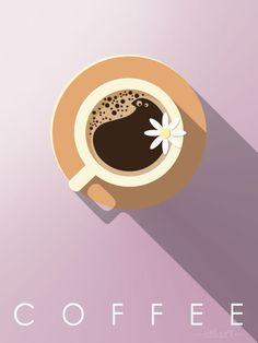 coffee, #vektorgrafik, #vectorillustration, #flatdesign, Vector Grafik, Digital Art, Illustration, Lettering, Print, Printable, Karten, Cards, grafik design, happy draw