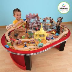 Kidkraft® Radiator Springs Race Track Set and Table