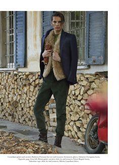 Ugg Maksim Mens Boots Pajama Blue