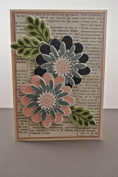 Flower Patch Stampin up by Cards and Scrapping