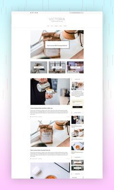 VICTORIA - Simple & Minimal WordPress Blog Victoria is a clean and minimal Wordpress blog theme. Victoria has a minimalistic layout that focuses on simplicity and readability. Easy installation allows you to start post blogs immediately after the activation. #simple_theme #wordpress_blog #blog_layout
