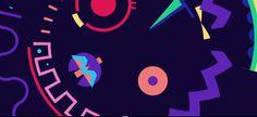 Trippy Video – Dead Head Animation