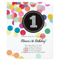 5 x Multiple Shapes and Sizes, Custom Back, Flat Card ***This product is a promoted affiliate link. Please see my disclosures about affiliate links here. 1st Birthday Tutu, 1st Birthday Party Invitations, First Birthday Parties, Girl Birthday, Birthday Ideas, 1st Birthdays, Create Your Own Invitations, Confetti, Party Fun