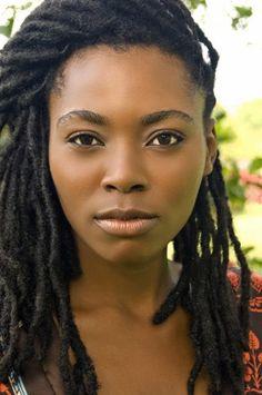 Simple loc Look | Black Women Natural Hairstyles