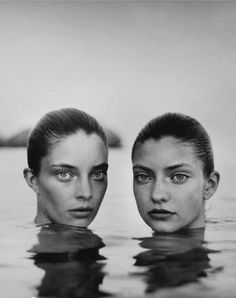 sh29 Nereidas, Melina Martin & her sister photographed by Elina Kechicheva for Marie Claire Spain July 2013