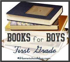 Books for Boys- First Grade Reading List   iHomeschool
