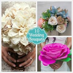 10 DIY Wedding Bouquets