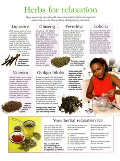 Mind, Body, Spirit Collection - Herbs For Relaxation