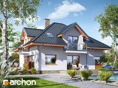 Dom w sansewieriach Casas Country, 2 Storey House Design, Home Fashion, House Plans, Contemporary, House Styles, Home Decor, Tiny Houses, Home Kitchens